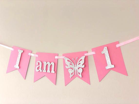 First Birthday High Chair Banner Game Zone 1st Birthday First Birthday Party Decorations I Am One