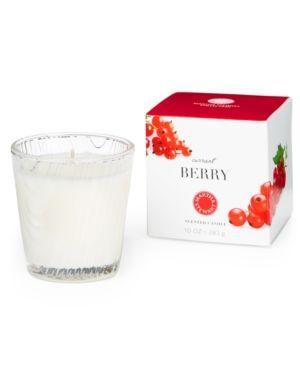 Martha Stewart Collection Large 10 oz. Candle, Only at Macy's - Currant Berry