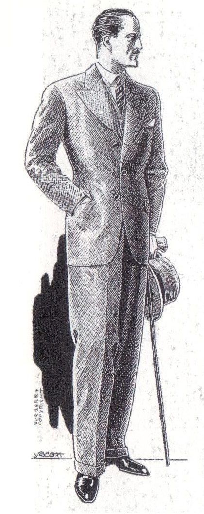 1930s - Burberry menswear