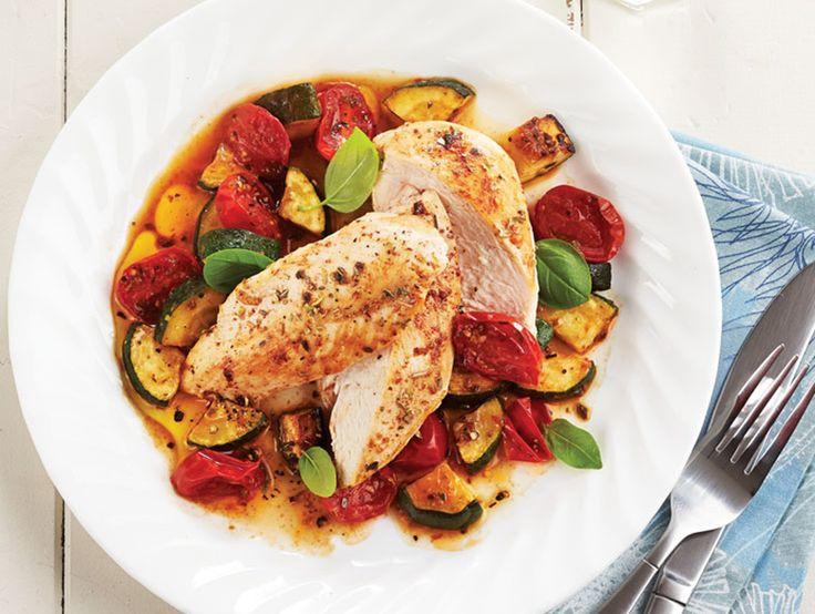 Ce plat généreux en légumes savoureux sera prêt en moins de 30 minutes! Mettez-le au menu les soirs de la semaine.