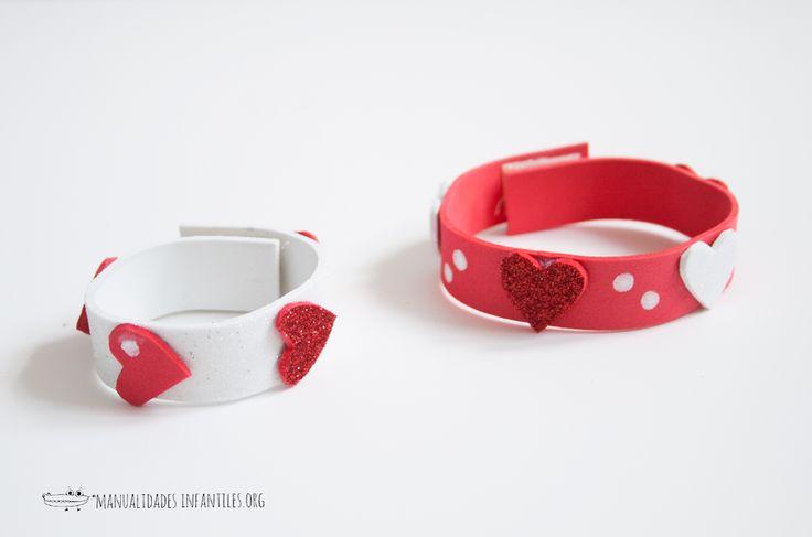 Las 25 mejores ideas sobre pulseras de goma en pinterest for Como hacer pulseras de goma eva