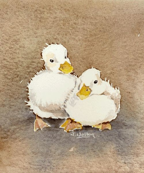 Two Ducks by Jane Walton
