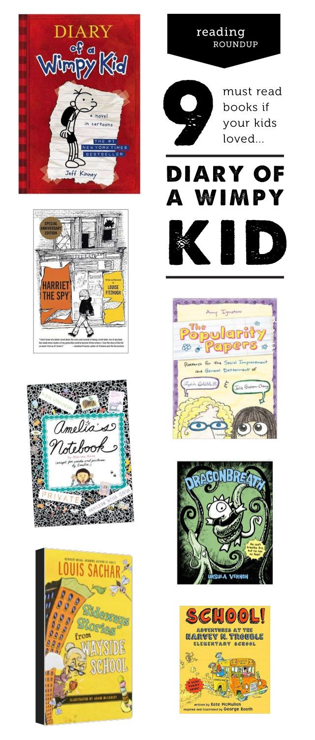 Book Nook: If You Liked Diary Of A Wimpy Kid, Try
