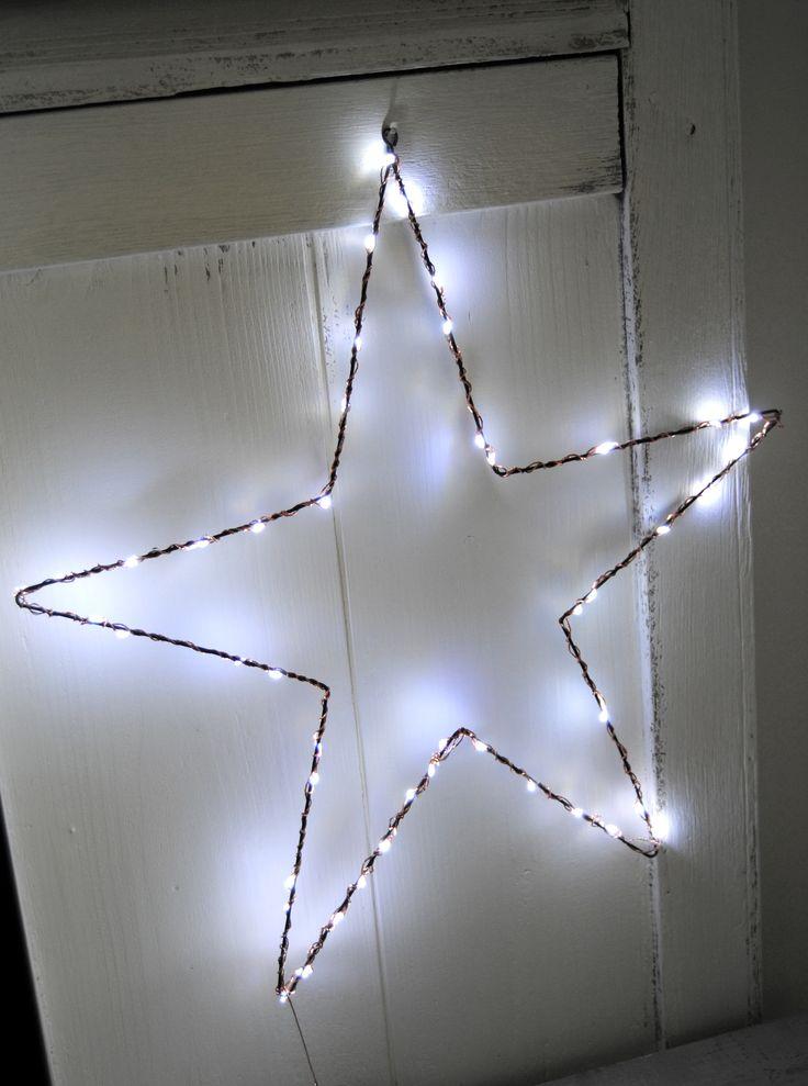 guirlande lumineuse blanc pur home decor inspiration pinterest shops and toile. Black Bedroom Furniture Sets. Home Design Ideas