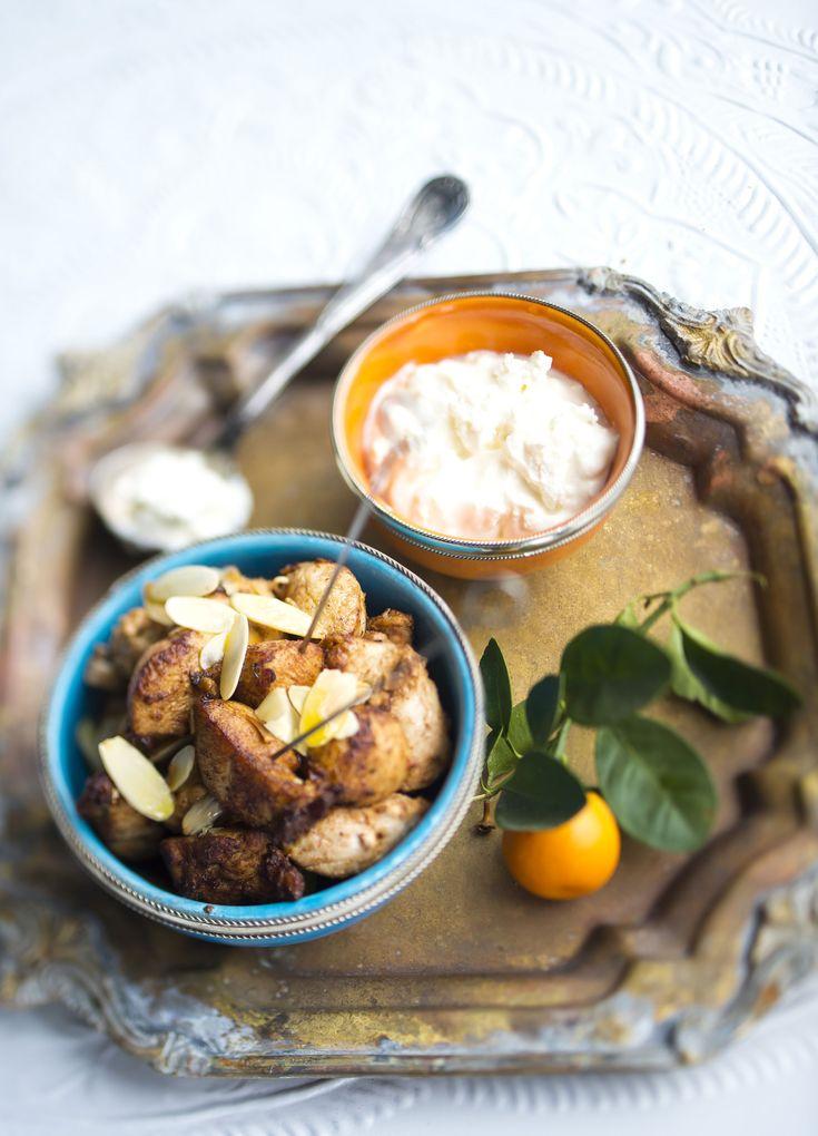 Turkkilainen sitruunakana, Turkish style lemon chicken - Ruoka.fi