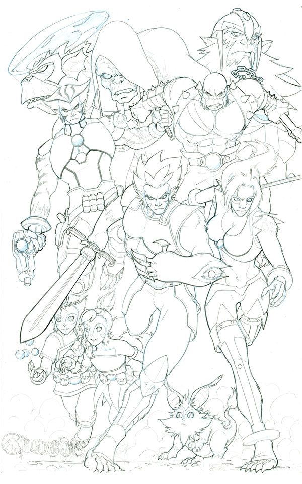 the new thundercats by sunny615 on deviantart - Thunder Cats Coloring Book Pages