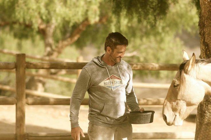 Gerard Butler Skydog Mustang Rescue Malibu