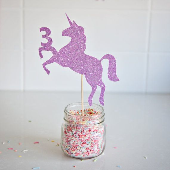 1000 Ideas About Unicorn Cake Topper On Pinterest