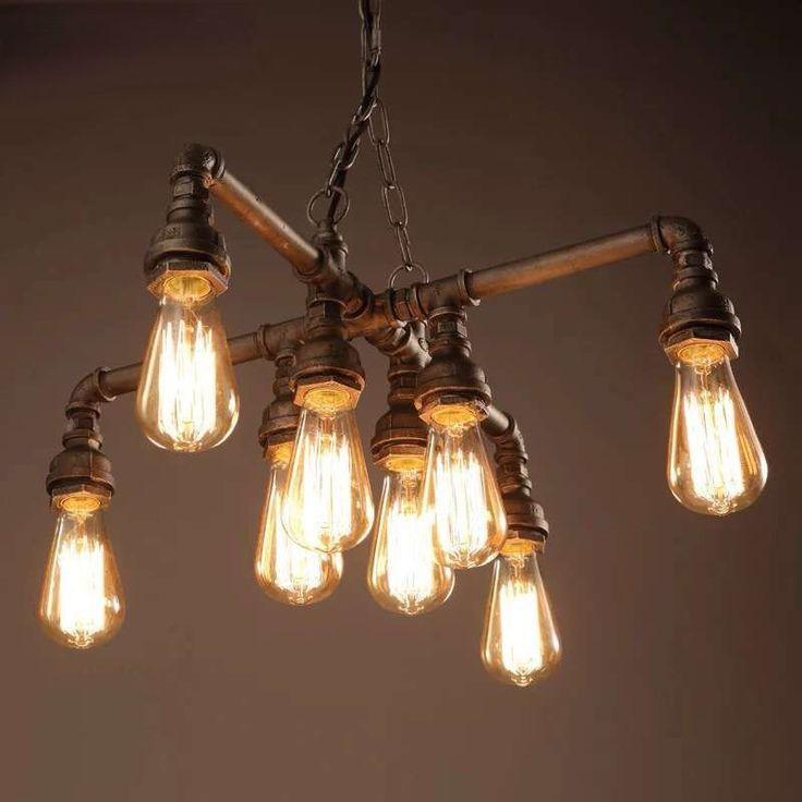 warehouse twinkle antique light chandelier bulbs edison bulb brushed nickel lowes lights