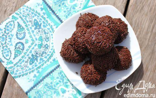 Бразильские конфетки Бригадейро | Кулинарные рецепты от «Едим дома!»