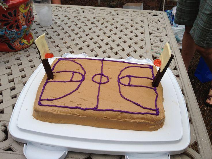 Lebron James Red Velvet Cake