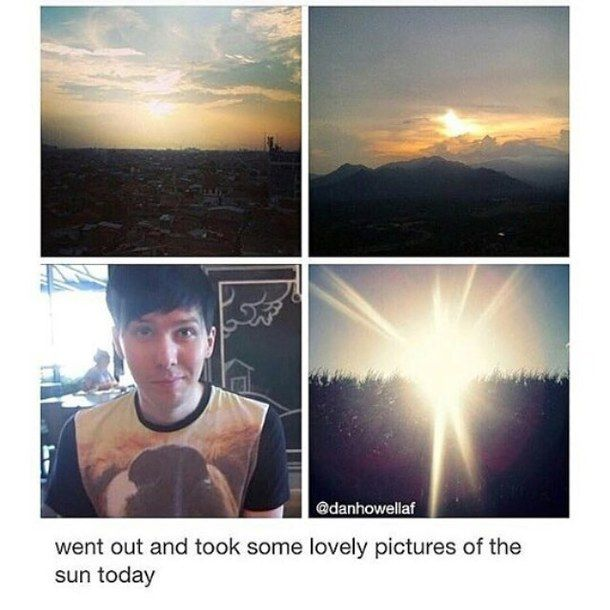 look its the sun