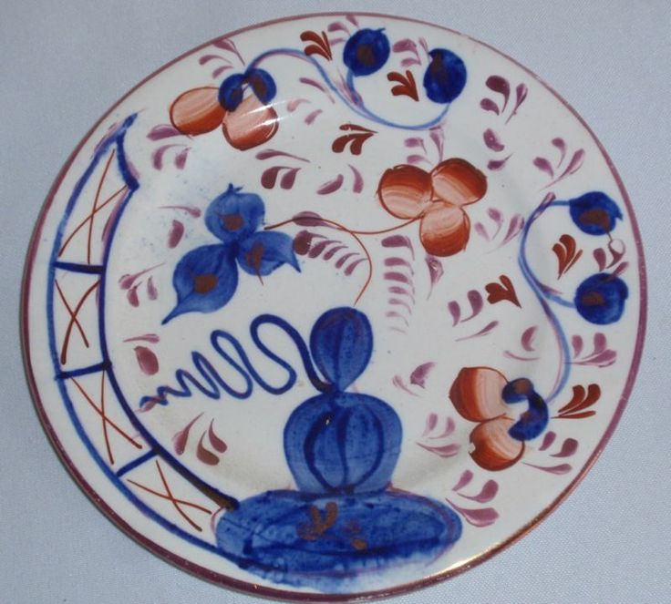 Hand Painted Plate Pattern