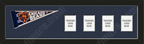 Chicago Bears Memory Mats Are Mat Boards Stenciled & Cut With Team Name Or Your Name / Text-To Insert Your Photos/Cards-Please Go Through Description & Mention In Gift Message The Option You Choose