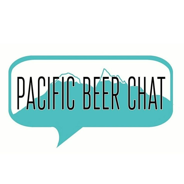 Here is the brand new logo for Pacific Beer Chat!  Loving the new look.   Www.pacificbeerchat.com