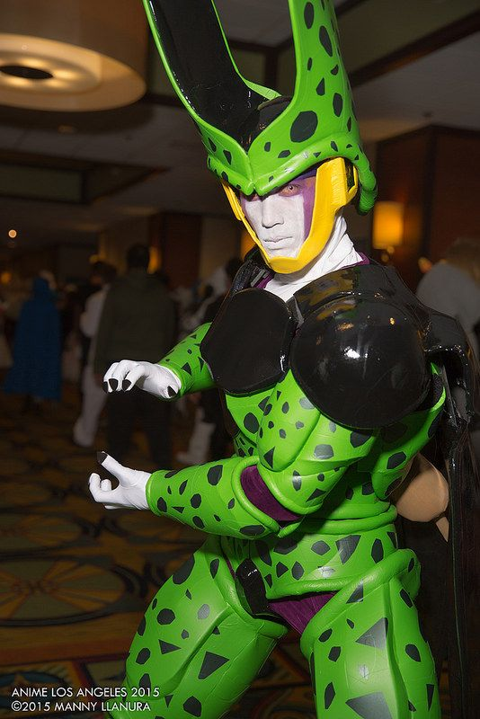Cell Cosplay by Andrew | #ALA Anime Los Angeles 2015