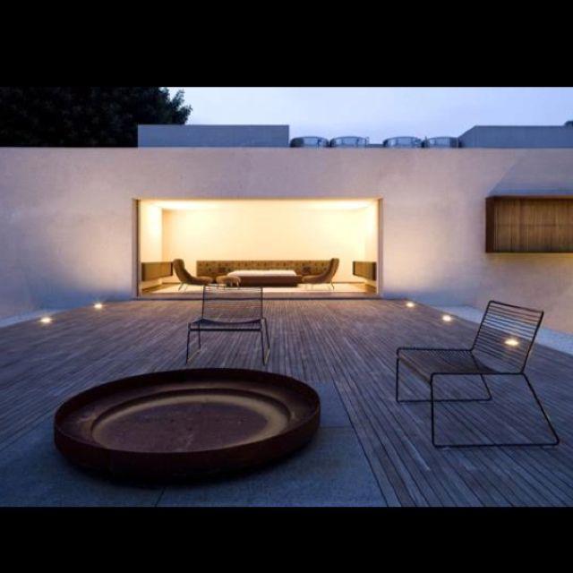 20 beste afbeeldingen over buitenhaard vuurkorf op pinterest vuurkorven vuurplaats schommels - Blind patio goedkope ...