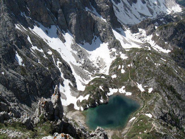 Zoldo Alto - escursionismo  - Coldai (Lago)  da Palafavera per il rifugio Coldai - Veneto