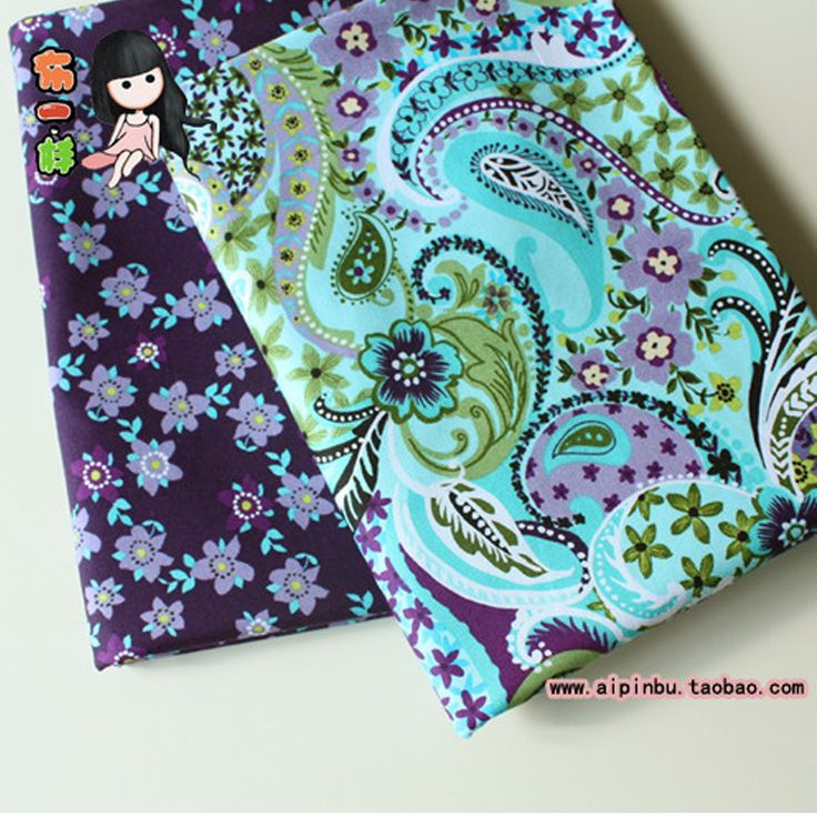 Cheap ethnic cloth, Buy Quality fashion clothe directly from China cotton fabric Suppliers: Felt Telas Patchwork Hot 2 pcs Lot Purle Flower Green Top Fashion Cotton Fabric Sewing Telas Traditional Ethnic Cloth 50*50cm