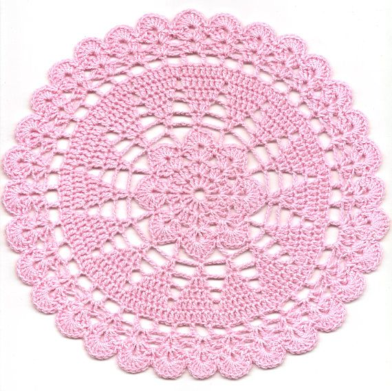 Crochet Doily Lace Doilies Table decoration Crocheted Doily
