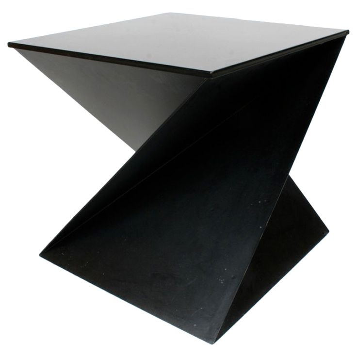 italian cubist side table