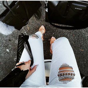 52 best images about Her Rare Jeans on Pinterest | Silver chains ...