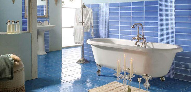 Los mejores colores para decorar el baño - http://www.decoluxe.net/los-mejores-colores-para-decorar-el-bano/