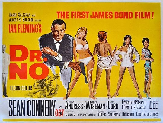 Bond ... James Bond ... Dr. No