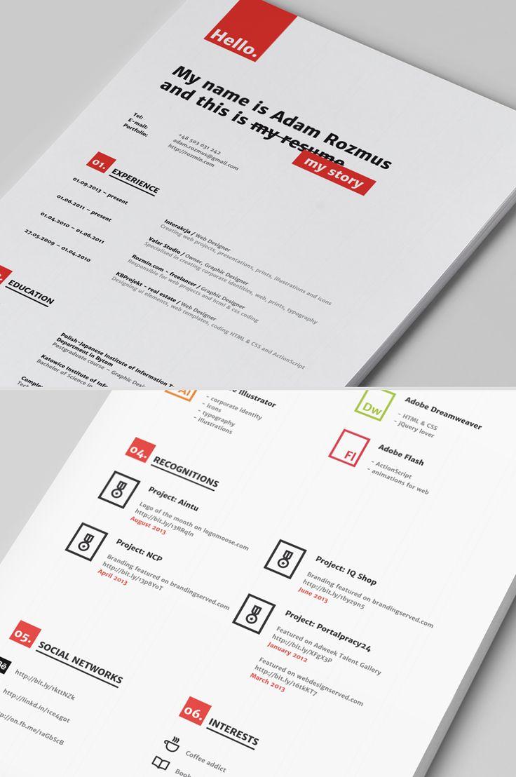 resume cv のおすすめ画像 80 件 pinterest 履歴書のデザイン
