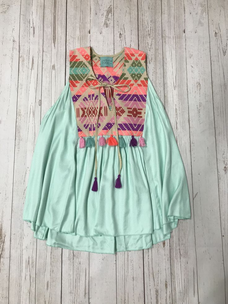 Judith March Mint Top
