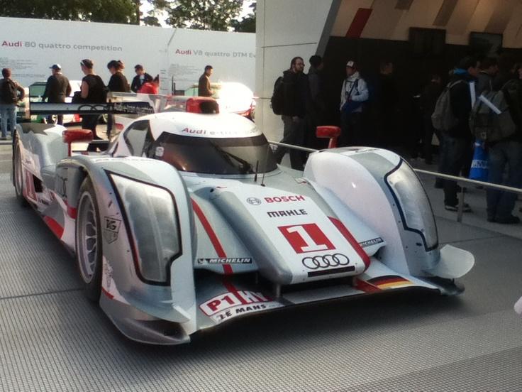 Audi e-tron 24h du Mans 2012