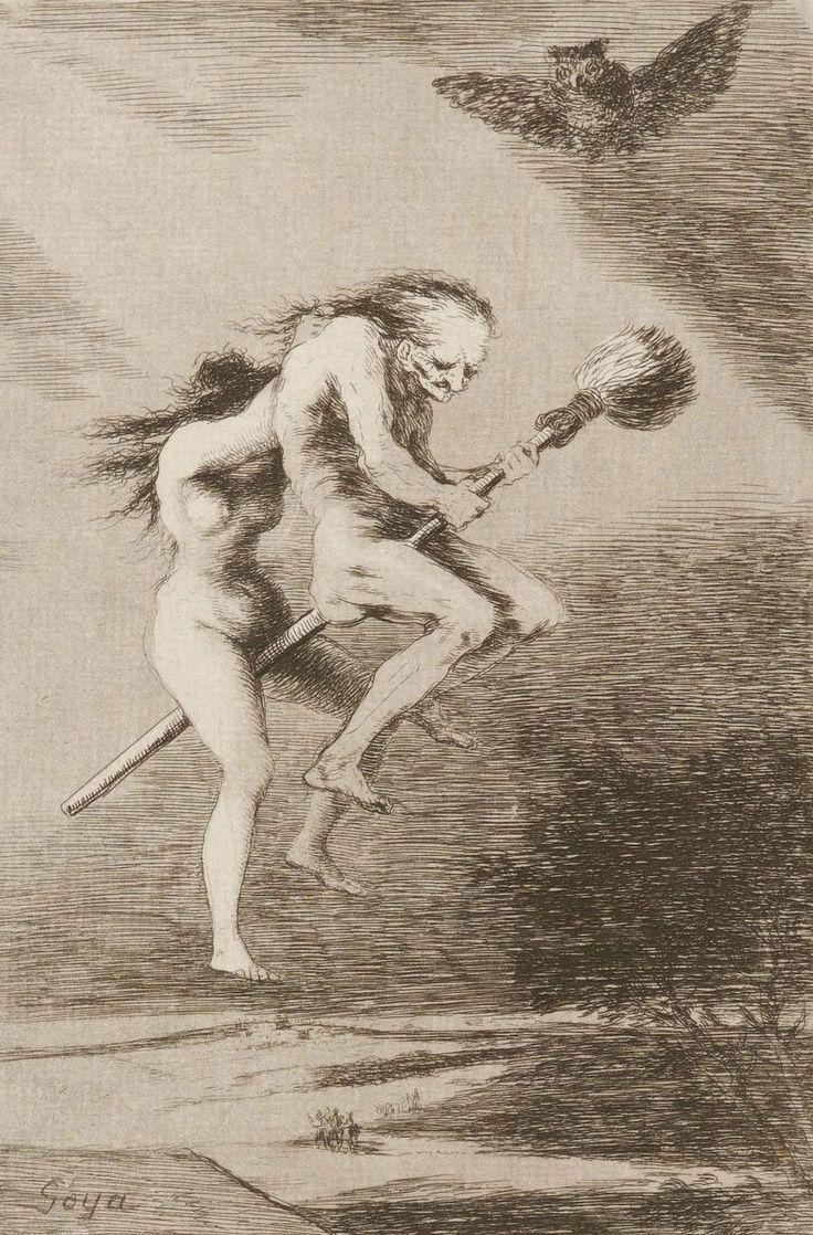 Francisco Goya, Los Caprichos, Pretty Teacher, ca. 1799