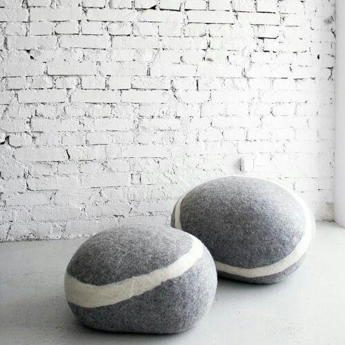 Stone pouf by FIVETIMESONE