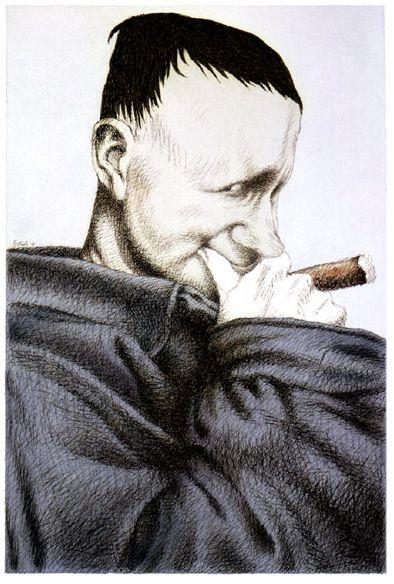 Tullio Pericoli Bertold Brecht