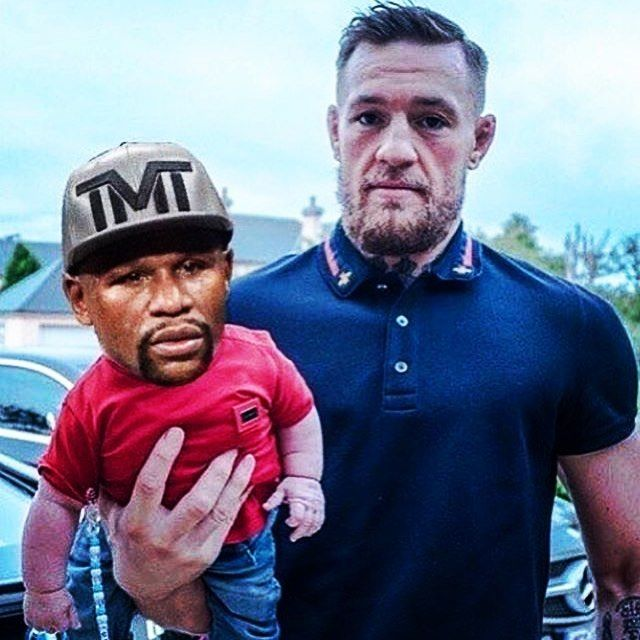#Mayweather vs. #McGregor - Join our media sharing platform FUNY.CO #memes #meme #funny #fun #funy #jokes #comedy #comic #humor