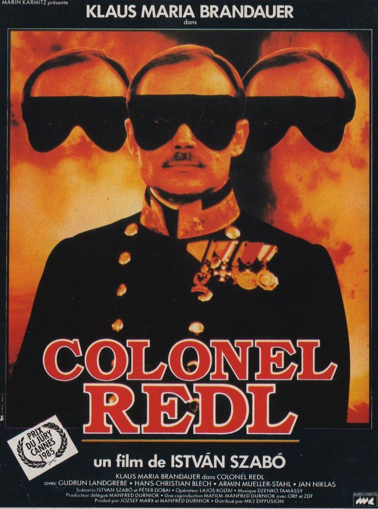 Coronel Redl (1984) Hungría. Dir: István Szabó. Drama. Biográfico. Imperio Austro-Húngaro. Homosexualidade - DVD CINE 695