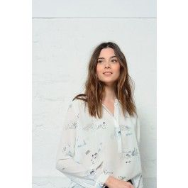 blouse toiny oslo @ DES PETITS HAUTS
