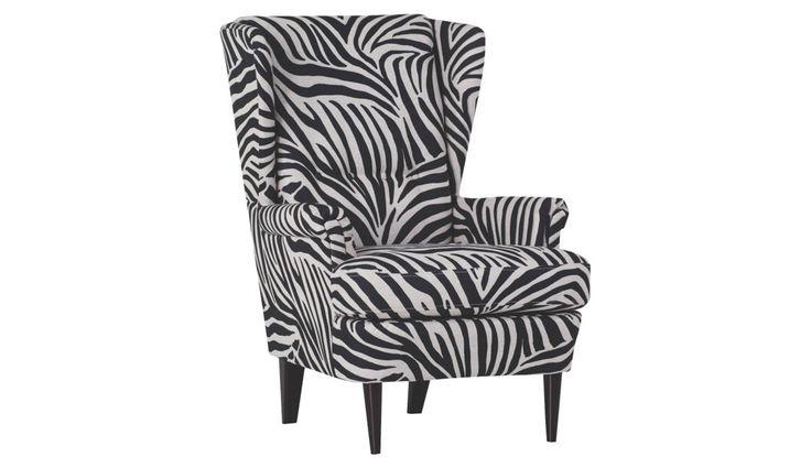Flachgewebe SESSEL Schwarz, Weiß - Sessel - Polstermöbel - Wohnzimmer - Produkte