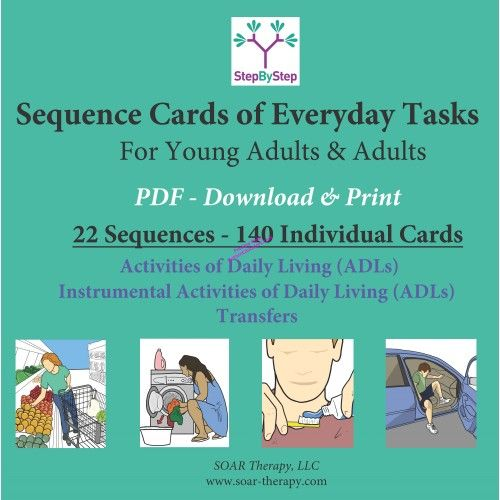 StepByStep - 22 Sequences for Young Adults & Adults