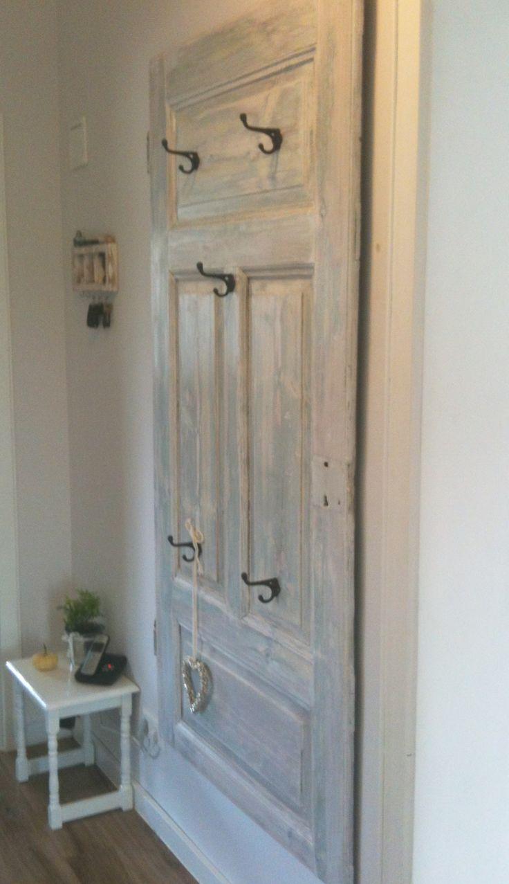 Garderobe Aus Alter Tür Garderoben Aus Alten Türen