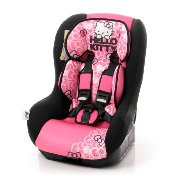 Hello Kitty Safety Plus Car Seats Group 0 1 - 0 18 kg hello kitty pink - Collection 2015 on Prams.net.