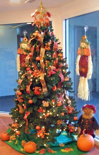 Thanksgiving tree christmas holiday ideas pinterest