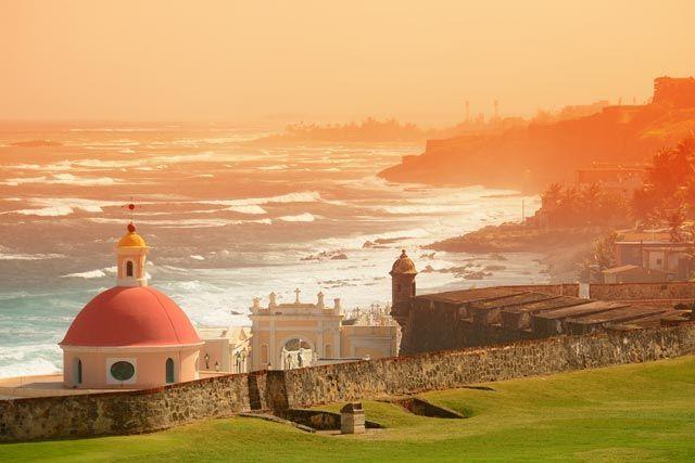 San Juan, vieille ville, Porto Rico, Caraïbes.