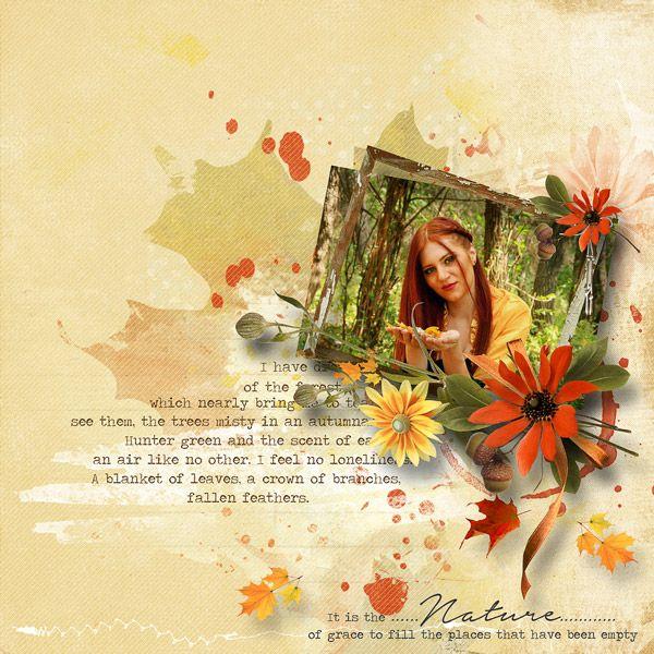 """""""Autumn forest"""" by Mediterranka Design"""