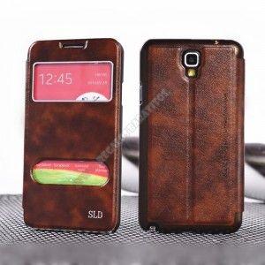 Si quieres cuidar y personalizar tu teléfono con el diseño más espectacular, no te puedes perder esta Funda diseño doble ventana Galaxy Note 3 Neo