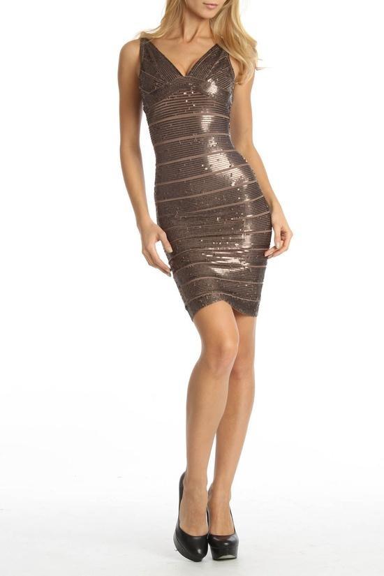 Herve Leger Mariah Dress