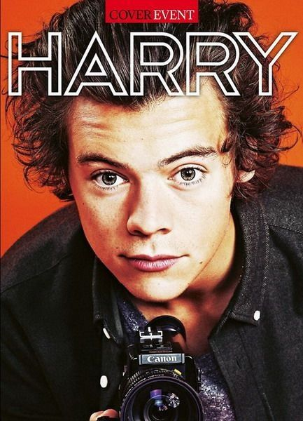 Harry Styles on a magazine cover