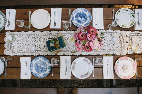 vintage upcycled table tops in this Santa Cruz Wedding | Sun and Life Photography