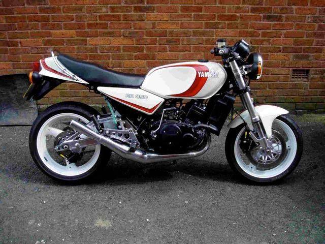 Yamaha RD 350 lc ypvs Suzuki Hybrid