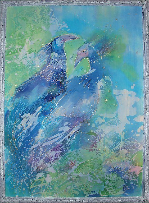 Купить Синие птицы - птицы счастья, синие птицы, blue, bird, счастье, для дома и интерьера